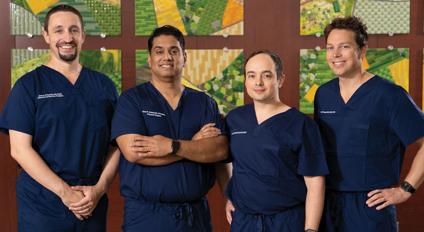 Our team of surgeons